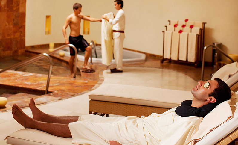 Grand Velas Riviera Nayarit Spa - Área para Caballeros Spa