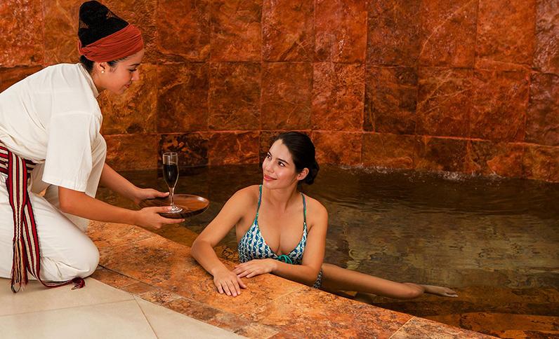Grand Velas Riviera Nayarit Spa - Servicios en Área de Hidroterapia