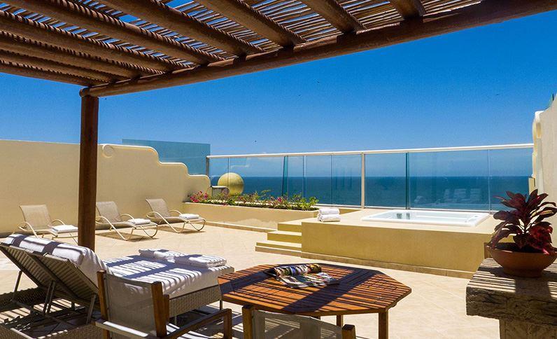 Grand Velas Riviera Nayarit Suites - Terraza de Suite Ambassador Penthhouse