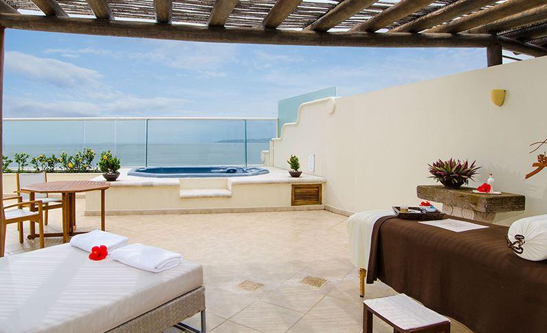 Grand Velas Riviera Nayarit Suites - Terraza con Vista al Mar en Ambassador Penthouse