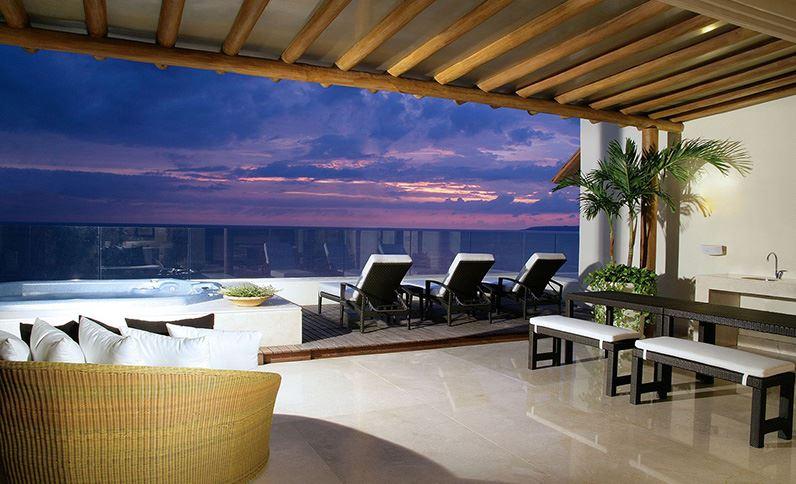 Grand Velas Riviera Nayarit Suites - Terraza de la Suite Imperial