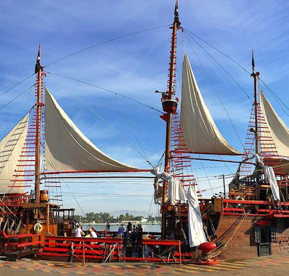 Marigalante Pirate Ship en México