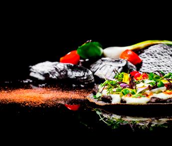 Flan de Queso Cabra del Restaurante Frida