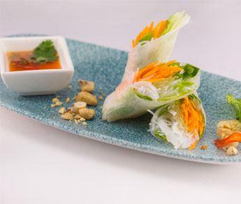 Vietnamese Roll Restaurante Sen Lin en Grand Velas Riviera Nayarit