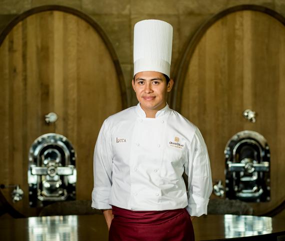 Chef Adrián Aguayo - Restaurante Lucca