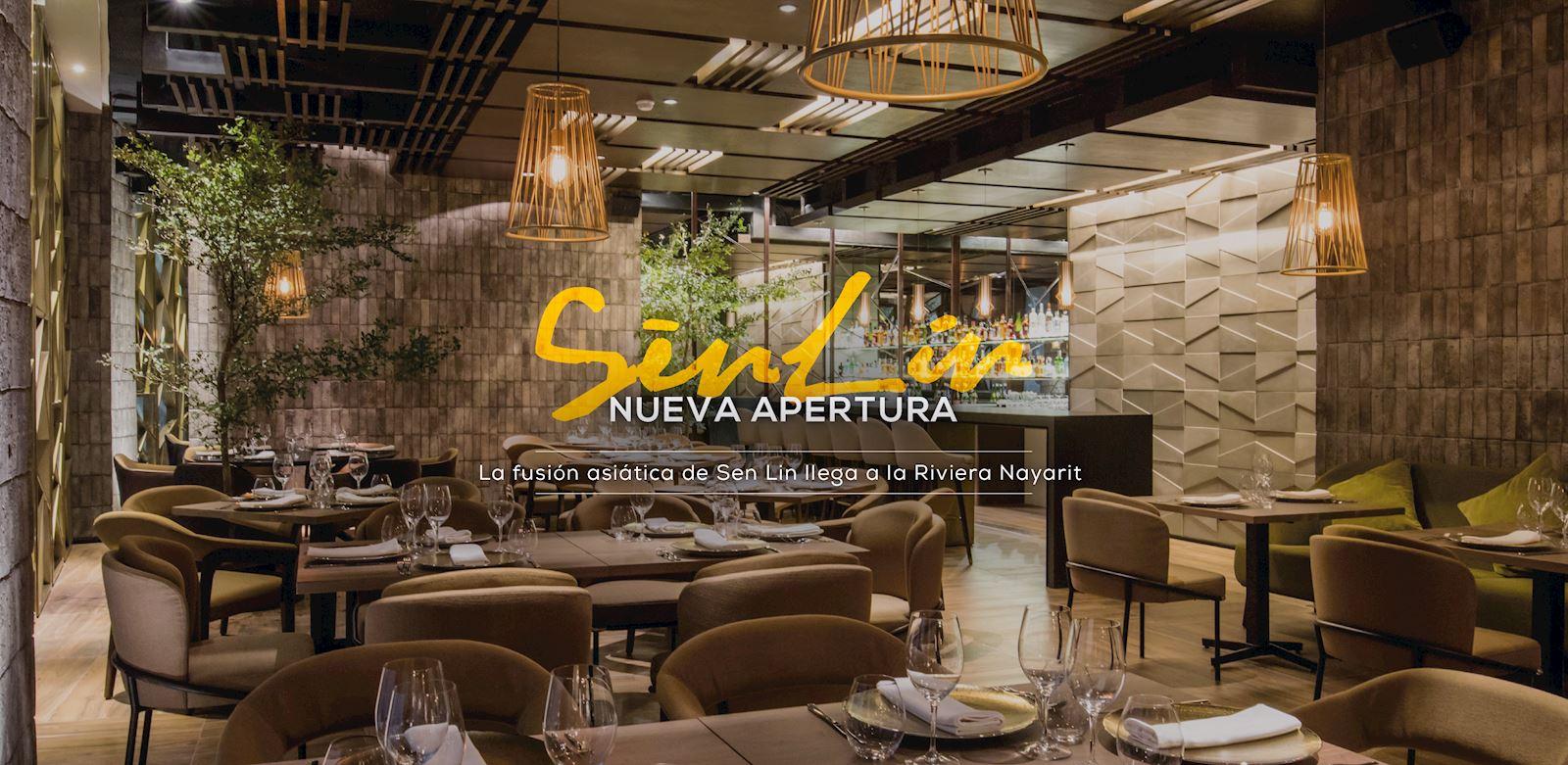 Restaurante Sen Lin en Gand Velas Riviera Nayarit