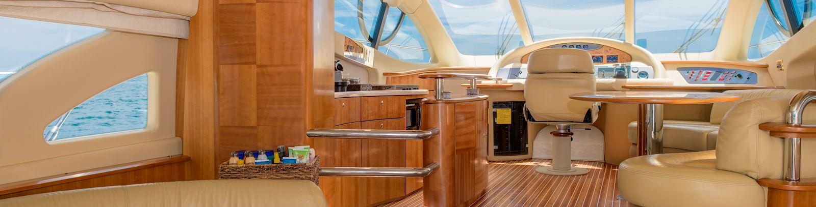 Atardecer a bordo - Grand Velas Riviera Nayarit