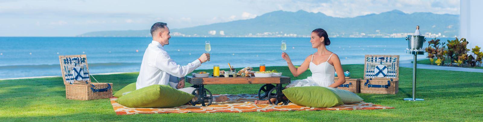 Picnic para enamorados - Grand Velas Riviera Nayarit