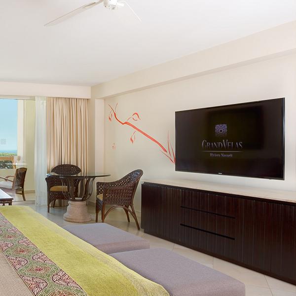 Suite Master Queen: Electrónicos en suite en Grand Velas Riviera Nayarit