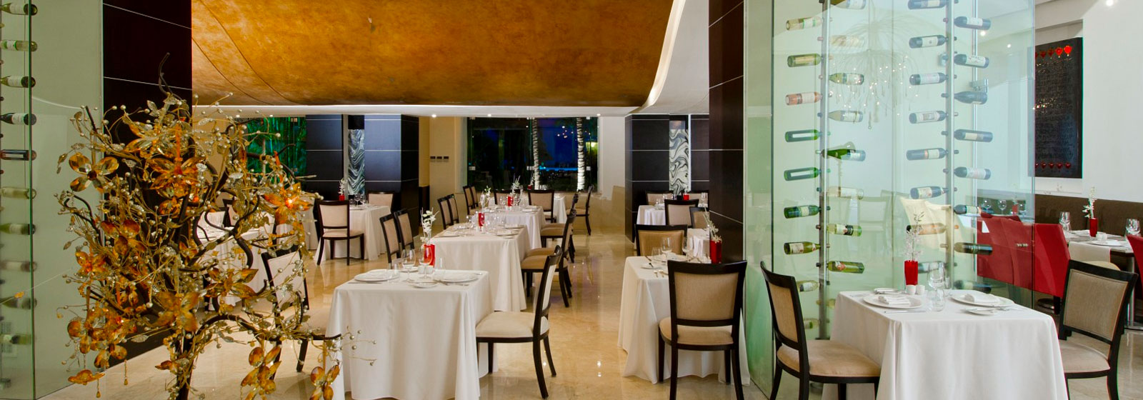 Restaurante Francés Piaf en Grand Velas Riviera Nayarit