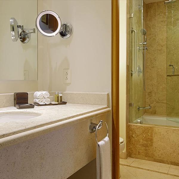 Amenidades de Tocador en Suite Parlor King de Grand Velas Riviera Nayarit