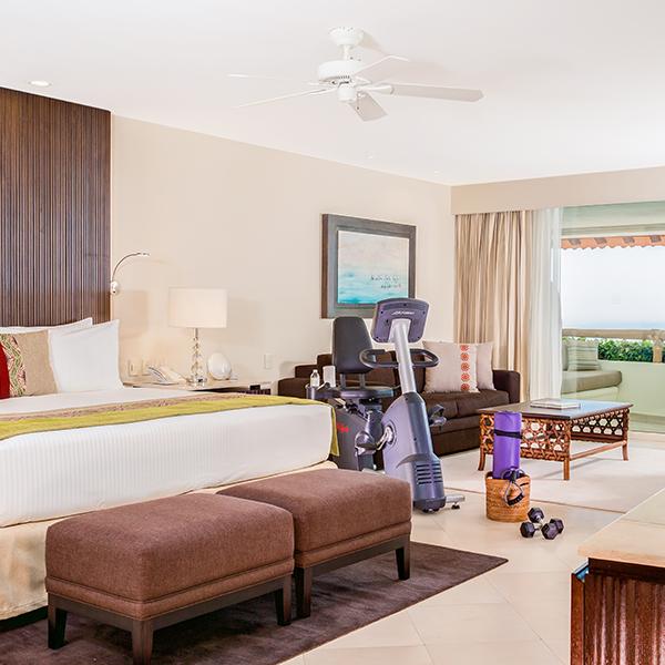 Suite Wellness: Electrónicos en suite en Grand Velas Riviera Nayarit