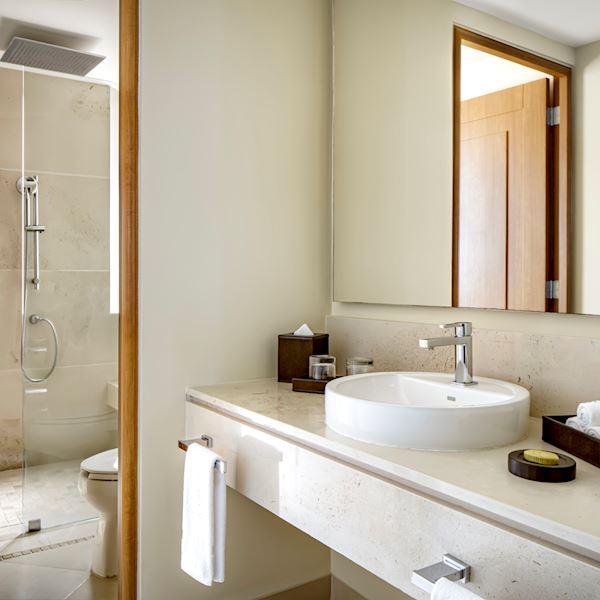 Amenidades de Tocador en Suite Wellness de Grand Velas Riviera Nayarit